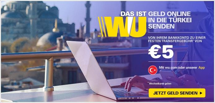 wie funktioniert western union online