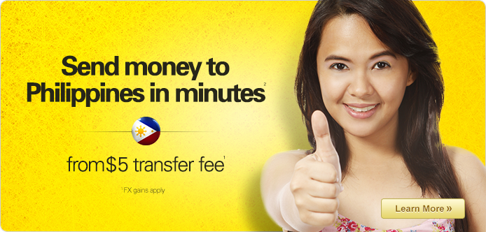 Send money to Philippines from $5