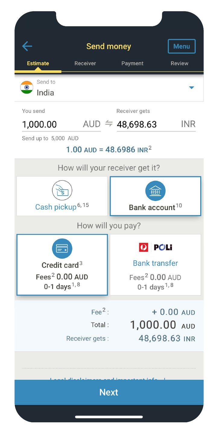 can i transfer money from western union to paypal