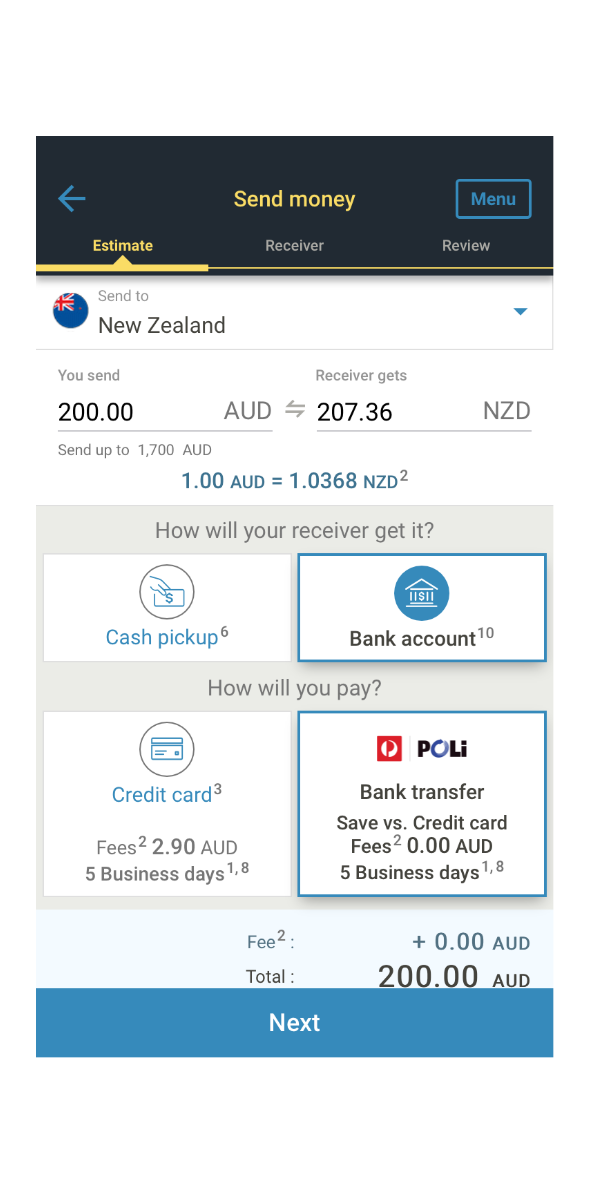 Send Money To New Zealand From
