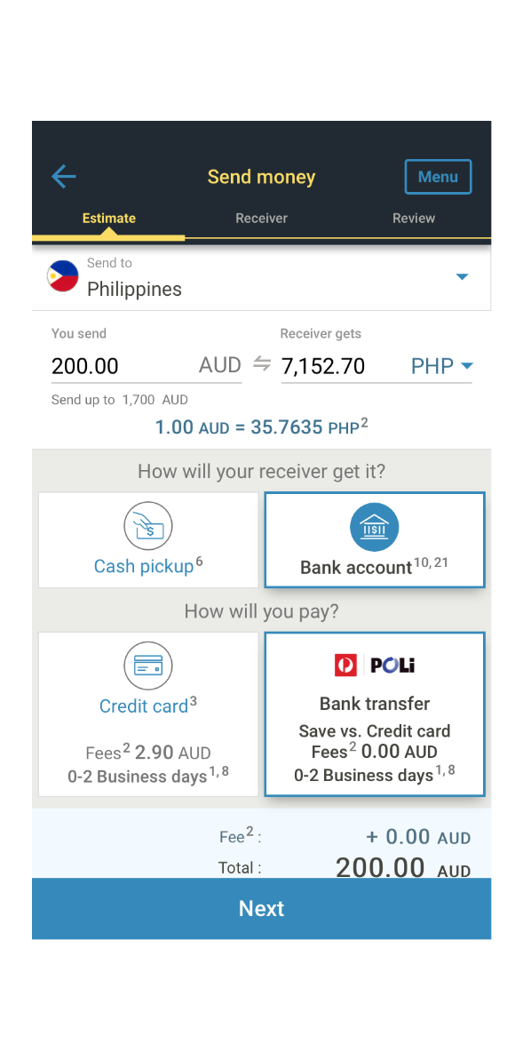 Send Money To The Philippines From Australia Western Union