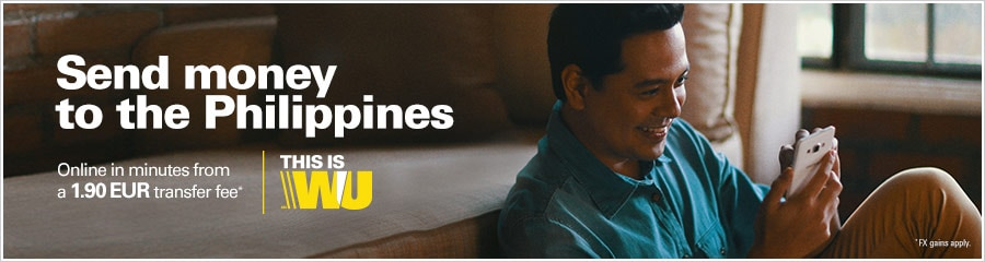 how to get money from western union philippines