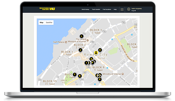 Find The Nearest Western Union Agent Location In Kuwait