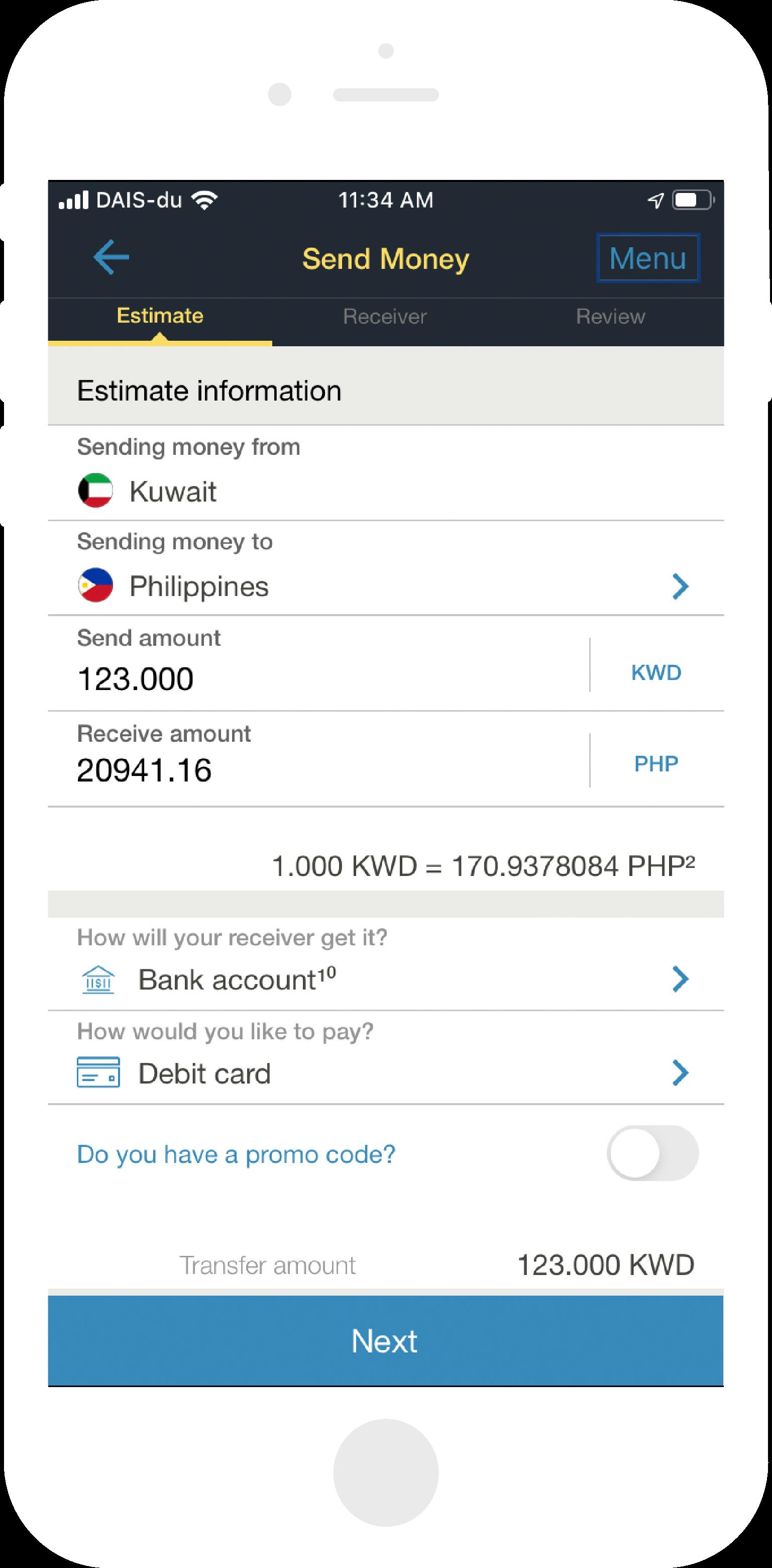 Money Transfers From Kuwait