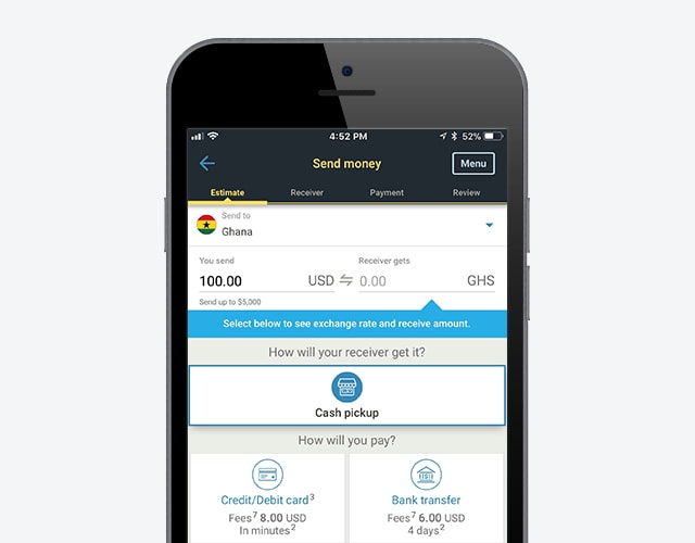 Send Money On The Go With Western Union