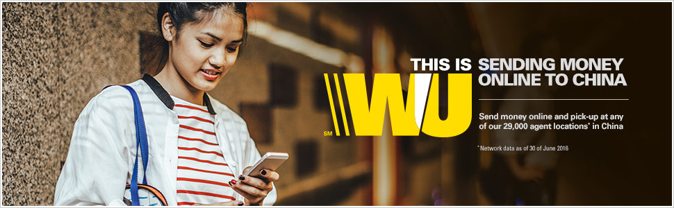 Send Money Online To China With Western Union