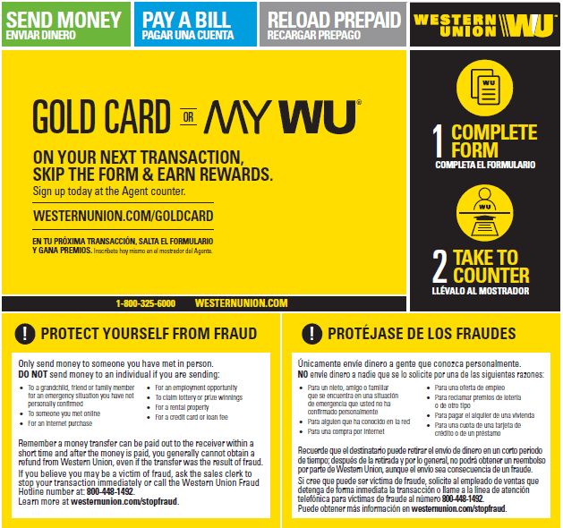 Wire Money Online  Card | Send Money In Person Send Money From A Location Western Union