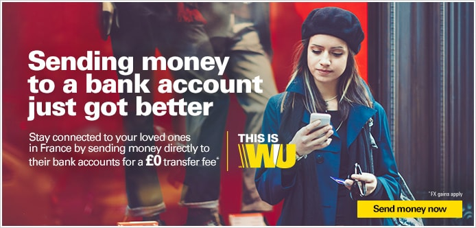 Sending money to a bank account just got better