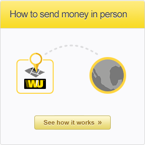 See how to send money in person!