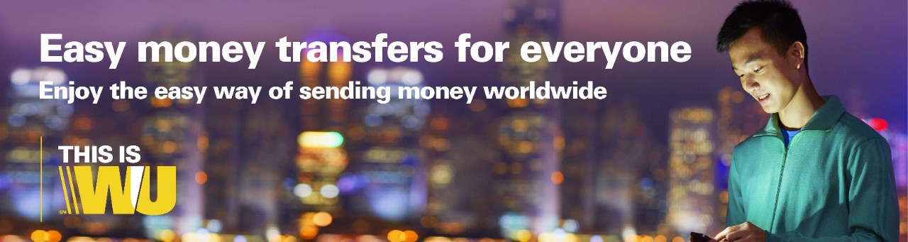 Western Union money transfer services