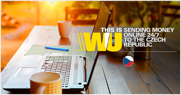 Transfer money to the Czech Republic with Western Union