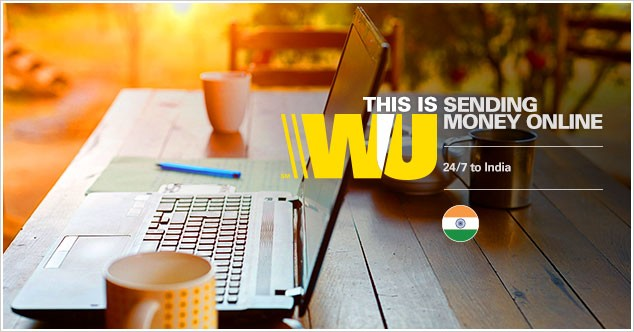 Use the web to transfer money to India with Western Union quickly and easily.