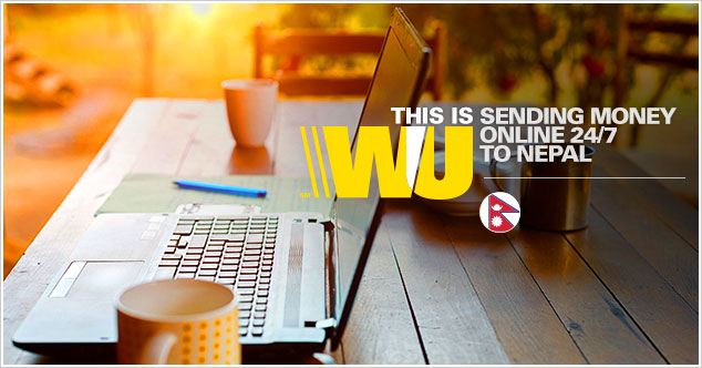Transfer money to Nepal with Western Union