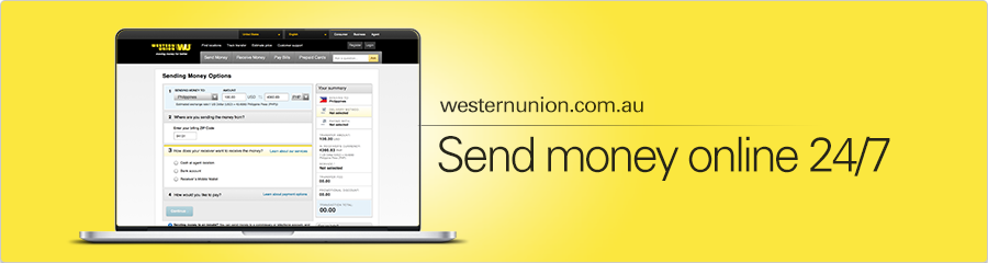 Send money to Europe with Western Union