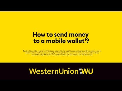 Geld an eine mobile Geldbörse senden   Western Union DE